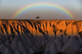 Rainbow Over Turkey Cappadocia