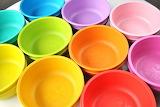 Colorful Crockery @ Pinterest...