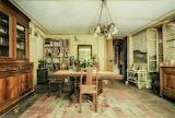 Dining room abandoned Italian home