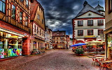☺♥ Pretty town in Swtitzerland...