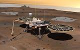 Phoenix Lander on Mars