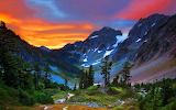 Switzerland-mountains-sunset