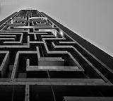 Maze building Dubai by Karim Nafatni
