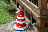 Light House I made out of Terra Cotta Pots
