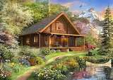 cottage in nature