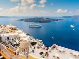Santorini Greek Island City of Fira
