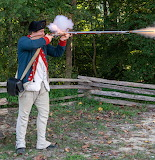 Revolutionary War Reenactor
