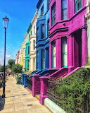 Colourful Notting Hill by @heylarina on Instagram