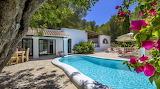Pretty Ibiza villa and pool