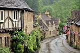 Looks rainy in Castle Combe (cotswolds)