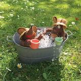 Minimus and Minima's paddling pool