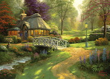 Friendship Cottage - Thomas Kinkade