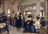 Jean Béraud, La Pâtisserie Gloppe, 1889