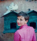 Audrey Hepburn, Philippe Halsman, 1954