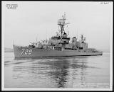DD-729 USS Lyman Swenson - Sumner Class