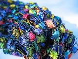 ^ Confetti yarn scarf