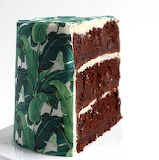 ^ Slice of wallpaper cake