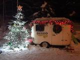 Christmas Burro camper