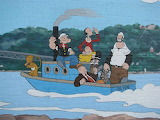 Mississippi River Murals in Chester Illinois