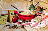 ^ Alpine Cheese Fondue