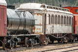Old train wagons
