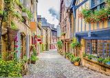 Summer street, France
