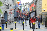 Crowded Street in Galway