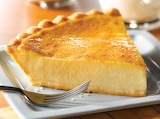 ^ Custard pie