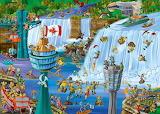 Niagara falls-painting