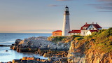 Lighthouse in Portland-Maine
