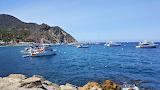 Boats at Avalon Catalina Island Callifornia USA