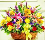 #Bright Flower Basket