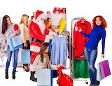 shopping time for santa claus