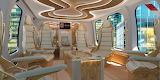 Luxurious interiorof of the BELL 525 RELENTLESS