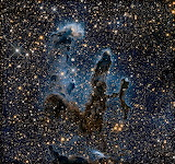 New view Pillars of Creation infrared, Hubble