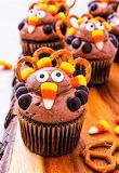 #Turkey Cupcakes