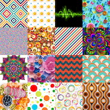 Retro Abstracts Collage