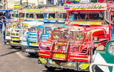 Colorful Filipino jeepney