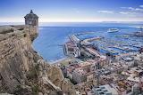 Alicante, Castillo de Santa-Bárbara, Spain