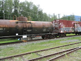 CP RailroadOld tank car