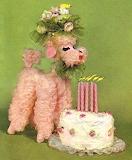 Dog and Cake