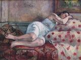 Henri Manguin, Femme couchée, 1927