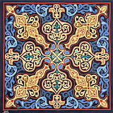 Khayamiya pattern appliqué
