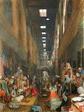 The Bazaar, Cairo, 1872, John Frederick Lewis