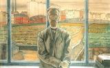 M. Dobuzhinsky, L'homme aux lunettes, 1905-06