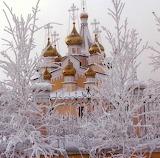 Church in Frozen Siberia