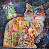 Tarot Cat Art