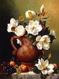 Magnolias-in-terra-cotta