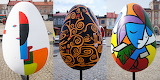Abstract Eggs in Skierniewice