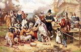 The First Thanksgiving-Jean Louis Gerome Ferris